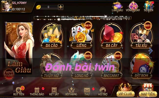 Game đánh bài Twin - Game bài đổi thưởng trên mọi nền tảng.