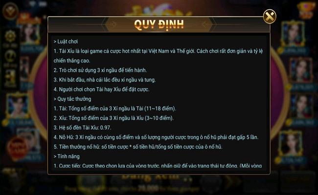 Luật chơi và cách chơi game Tài Xỉu trên Twin