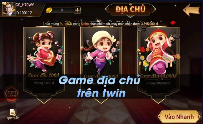 Game địa chủ trên Twin - App game đánh bài cực đỉnh, lôi cuốn.