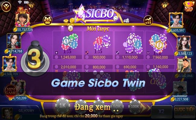 Game sicbo TWIN, Đột phá về cách chơi sicbo chỉ có ở TWIN
