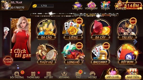 Cổng game bài đổi thưởng uy tín nhất TWIN